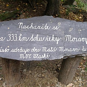 333. kilometr řeky Moravy